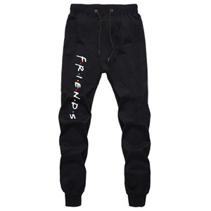 Harajuku Cotton Sweatpants For Men Autumn Fashion Loose Full Length Trousers Boys Joggers Workout Trousers Casual Long Pants