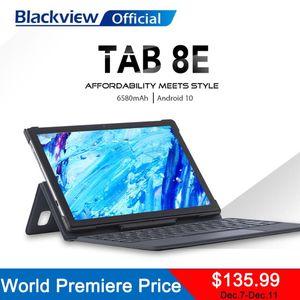 BlackView 2020 novo tab 8e 10,1 polegadas android 10 wifi tablet pc 3gb ram 32gb rom 13mp câmera traseira 6580mah grande bateria grande núcleo