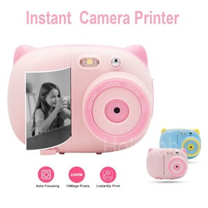 Mini Kids Instant Graffiti Photo Printer Wifi 1080P 15mega pixels for Digital SLR Camera Children Toy Video Recorder Y1120