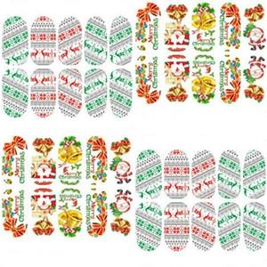 عيد الميلاد مسمار ملصقا متعدد نوع مهرجان نمط مسمار ملصقات الأيائل سانتا كلوز ثلج لطيف نمط إمرأة تيكرات الشارات جديد 1ot L2