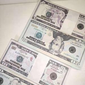 EE.UU. dólares Proponer dinero película Billete de banco Papel Novedad Juguetes 1 5 10 20 50 100 dólares Moneda Party Fake Money Niños Regalo 41