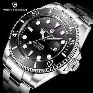 U1 usine st9 montre-bracelet SAPPHIRE Bezel en céramique noire en acier inoxydable 40mm 116610LN 116610 Mécanique automatique Mens Hommes Montres Montres