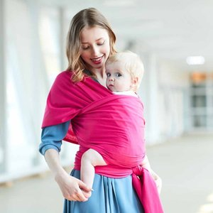 0-18 Months Baby Sling Babyback Carrier Ergonomic Infant Strap Wrap Holder Wrapping Cloth Carrying Scarf Z1127