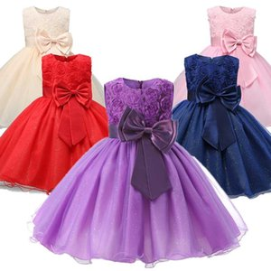 Princess Flower Baby Girl Dress For Kids Baby 1 2 Years Old Birthday Party Tutu DressNewborn Christening Gown For Toddler Girls