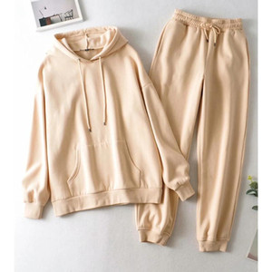 2 Pieces Sets Women Tracksuit Nightclub Uniform Sexy Hooded long pants Set Outfit Tracksuit Women Pullover Hoodie Set Suits New