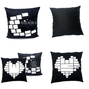 Sublimation Blank Moon Star Pillowcases Soft Household Pillowslip Love Heart Men Women Pillow Case Simplicity Hot Sale 8ex P2
