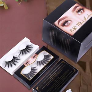 Dropshipping 10pcs lot 3D Mink eyelash False Eyelashes Natural Long Fake Eyelash Extension Thick Mink Eyelash 6d 25mm Mink Eyelashes