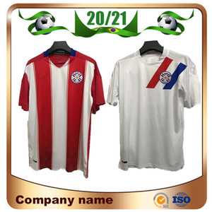 2021 Maillots de Football Paraguay National Football Team Jerseys 20/21 Accueil Romero Ayala Lezcano González Sanabria Football Shirt