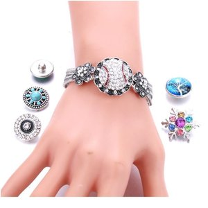 High Quality Snap Jewelry 18mm Snap Button Bracelet For Women Men Fit Snap Button Jewelry Button Bracele bbyoUP