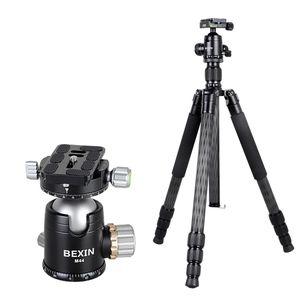 Bexin W324C M44 Carbon Fiber Stativ Stabile Aufnahmekamera für Vdeo Point DSLR Camera