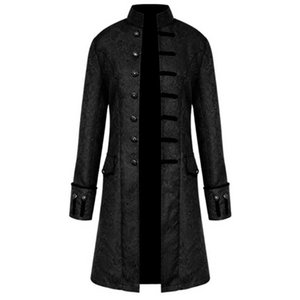 Free Ostrich Winter Clothes Men Warm Vintage Tailcoat Jackets coats Overcoat Outwear Buttons Plus Size streetwear veste homme 10