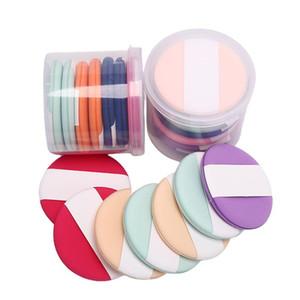 1 7Pcs Round Shaped Makeup Air Cushion Sponge Puff Dry Wet Dual Use Concealer Liquid Foundation BB CC Cream Makeup Puff Hot