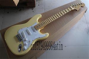 무료 배송 Groove Fretboard Signarized Tremolo Sky Blue Electric Guitar Stock의 Signature Stratocaster