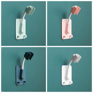 Não-perfuração Cabeça fixa cabeça de suspensão Sprinkler Ajustável Sucção Copo Suporte Cabeça de Chuveiro Banheiro Acessórios GWB4347