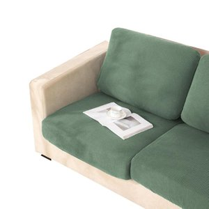 Stretch Couch Cover Furniture Protector Jacquard Thick Sofa Cushion Corner Seat Elastic Slipcover Solid Pure Color