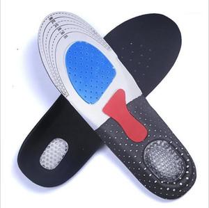 Silikonschuh Einlegesohlen frei Größe Männer Frauen Orthetische Bogen Unterstützung Sport Schuhkissen Weichlauf Einsatz Kissen Semelle Orthopädie1