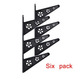 Skateboard Wall Rack Longboard Wall Mount Storage Rack Clip Hanger Holder Mount Skateboard Deck Display Tools