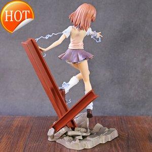 Определенный волшебный индекс сексуальная девушка Mikoto Misaka PVC действие фигура аниме сексуальная фигура игрушки коллекционируемая статуя куклы подарок