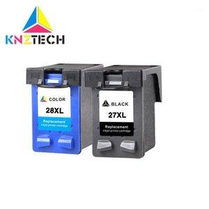 Ink Cartridges 27XL 28XL Cartridge For 27 28 Replace For27 Deskjet 3320 3325 3420 3535 3550 3650 3744 Printer1