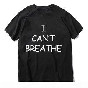 I cant breathe Luxury Mens Designer T Shirts Summer T Shirt Designer T Shirt Fashion Men Women Short Sleeve Tees Size XS-XXL