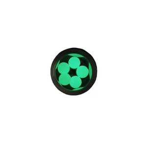 DHL free 8 mm Quartz Terp Pearl Ball Dab Beads Insert Smoking Tools For Beveled Edge Quartz Banger Glass Bongs Dab Rigs Water Pipes