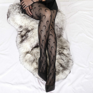 New Ladies Fashion Tights INS Trendy Moon Pattern Fishnet Socks 2020 New Style European American Fashion Stockings Top Quality Tights