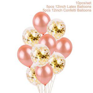 День рождения воздушные шары любят qifu баллон фольги юбилейный балун счастливая письма вечеринка воздух свадебные подарки украшения валентинок hwe3016