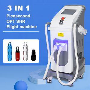 Picosecond Laser Chloasma Rimozione Beauty Attrezzature di bellezza Melanin Rimozione IPL Depilazione permanente Elight ANCE Rimozione EQUIPMENT