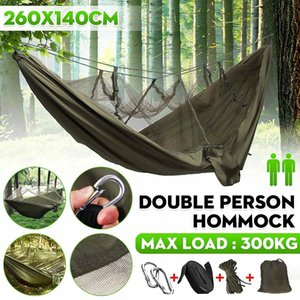 Camping Mosquito Nets Hammocks Ultralight Camping Hammock Beach Swing Bed Hammock for Outdoors Backpacking Travel Z1202