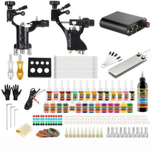New Arrival Tattoo Machine Kit Complete Sets Rotary Machines for Body Art Color Inks Power Supply
