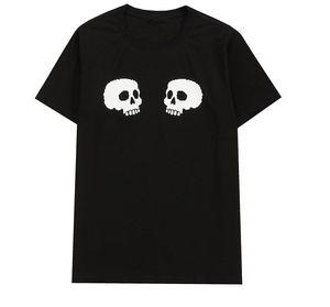 Hombres diseñador Mujer camiseta Tendencia de moda Trend Menores Casual Street Señoras Camiseta transpirable Venta al por mayor de alta calidad 100% Tamaño de algodón S ~ 2XL