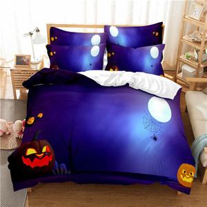 3D Cartoon Bedding Set for kids children baby boys,Duvet Cover Set Custom,Quilt Blanket Cover Set Halloween
