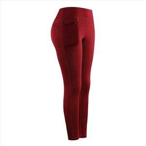 Women Pockets Leggings Sports Fitness High Waist Seamless Leggings Push Up Running Pants Energy Seamless Gym Girl 25