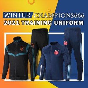 20 21 Ajax Training clothes Soccer Jerseys #21 DE JONG ajax 2020 2021 #10 TADIC #4 DE LIGT #22 ZIYECH Men football uniforms