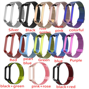 Milanese Strap For Xiaomi Mi Band 3 4 Wrist Metal Bracelet Stainless Steel MIband for Mi Band 4 Strap Wristbands 13 Colors
