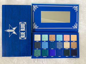 Five star Blue Blood eyeshadow palette makeup 18 color Shimmer Matte eye shadow palette high quality