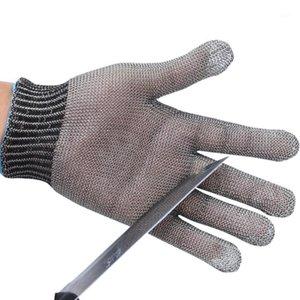 Gants hautes performances en acier inoxydable en acier en acier 5 en acier et anneau PE Bago de fer Gants de sécurité unique Proof1