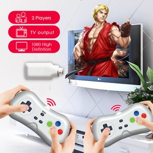 TWCH Newest TV Game 2.4G wireless dongle mini TV GAME up to 620 game in 1 AV output 2.4G wireless controller low definition