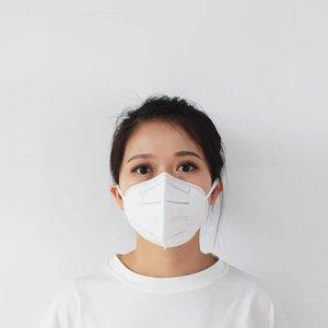 Masque anti-moussant PM2.5 Masque Splash Face Proof Neuf Dust Dust Dust Filtre anti-brouillard Respirant Masque de protection suspendue Type d'oreille