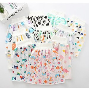 3pc Children Diaper Comfy Reusable Baby Diaper Skirt Shorts 2 in 1 Boy's Girl's Training Skirt baby cloth cotton
