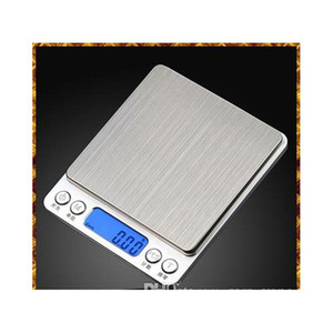 Portable Digital Jewelry Precision Pocket Scale Weighing Scales Mini Lcd Electronic Balance Weight Scales 500G 0.01G 1000G 200G 3000G Bomo5