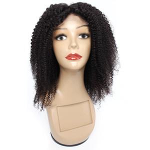 Kissyair 4x4 encaje cierre peluca afro rizado rizado pelo humano peluca peluca de encaje frontal rizado brasileño