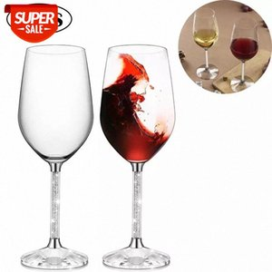 2Pcs Crystal Red Wine Goblet Glasses Lead Free Home Wedding Party Anniversary Champagne Flutes Glasses Cup Creative Gifts 350ml #1u1K