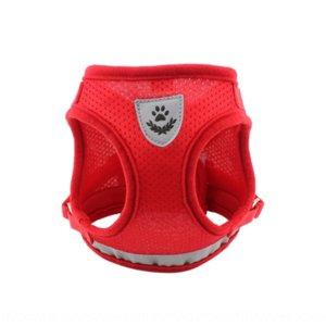4QMO0 PET Yansıtıcı Göğüs Çekiş Kayışı Köpek Çekiş Halat Yelek Tipi Köpek Halat Pet Göğüs Kayışı