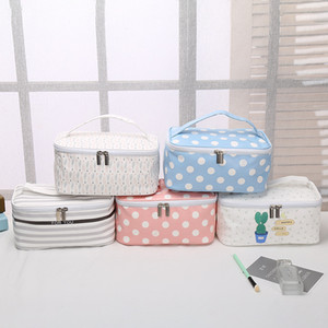 Hot Korean version of the wash bag Multi-function large capacity travel storage bag Women's outdoor cosmetics canvas storage bag