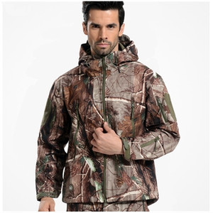 New TAD Gear Tactical Softshell Camouflage Outdoor HIiking Jacket Men Army Sport Waterproof Hunting Clothes Military Jacket 201114