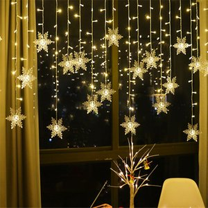 3.5m Snowflake LED Light Christmas Tree Decorations Navidad 2020 Xmas Gift Christmas Decorations for Home New Year 2021 Kerst Q1127 Q1128