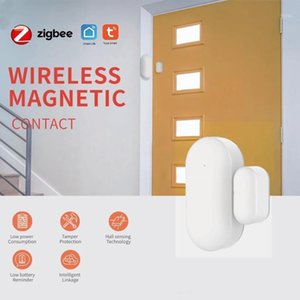 Датчик окна дверцы Tuya ZigBee с Alexa Google Home Smart Home Kits Alarm System Работа с Gateway Tuay / Smart Life App1