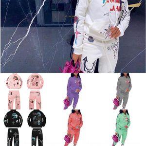 VB6X Fashion Designer Womens Cotton Yoga Costume Gymshark Sportwear TrackSuits Pantalons Sport Trois pièces Ensemble T Bra 3 Chemises Leggings Outf