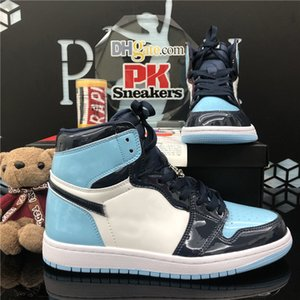 New Arrival Jumpman 1 1S Alta Obsidiana UNC WRACK JOGO ROYAL UNC Basketball Shoes Mens Shattered Backboard 3.0 Mens Sports Sapatilhas Sapatos
